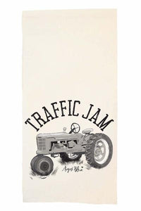 Traffic Jam Tea Towel