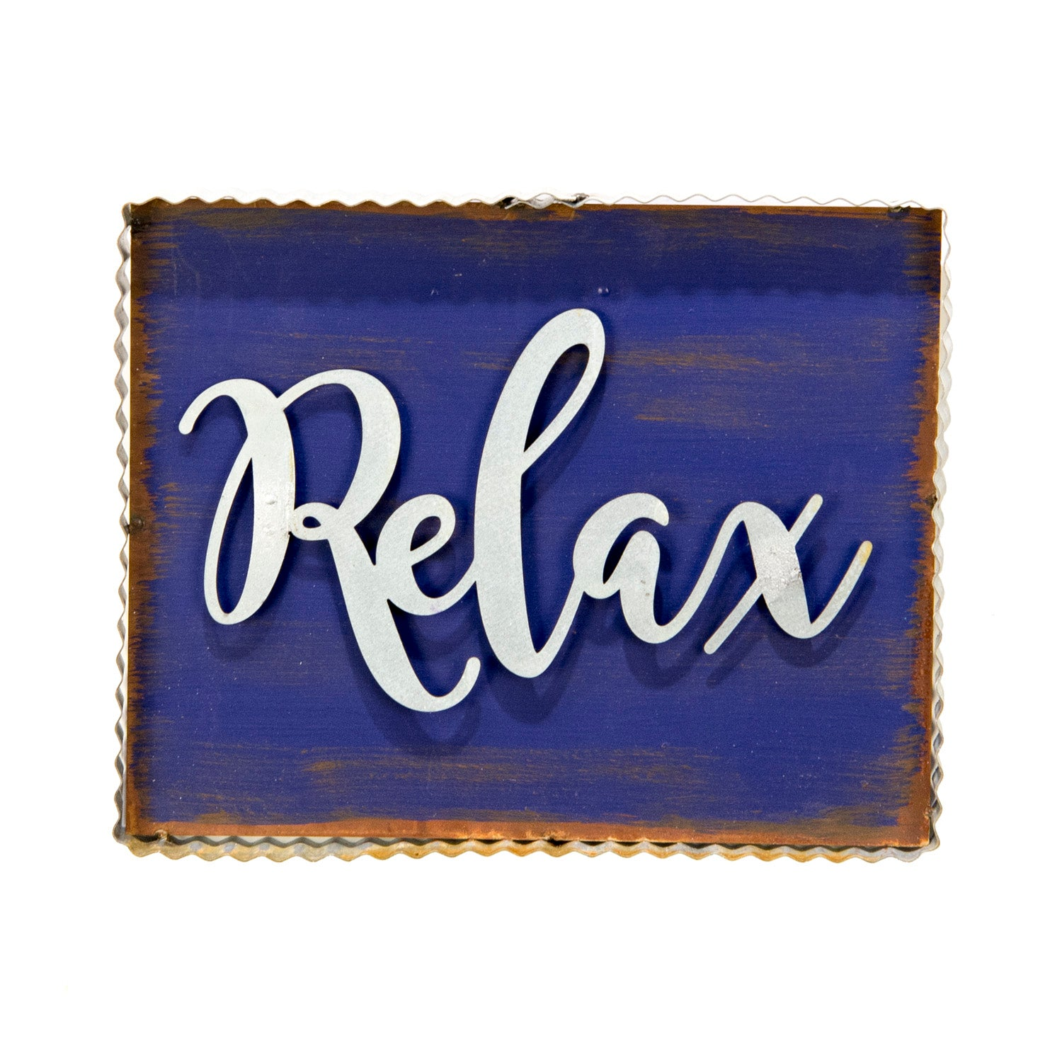 "Rustic ""Relax"" Sign"