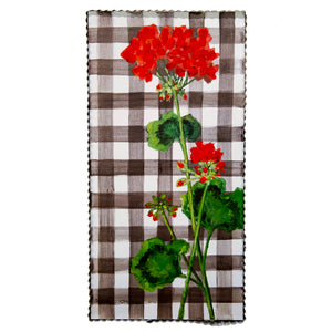 Gallery Gingham Geraniums