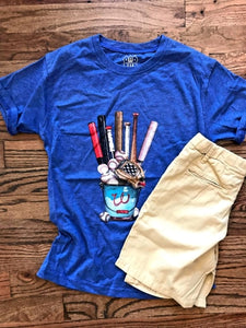 Baseball Equipment Kid's T-Shirt
