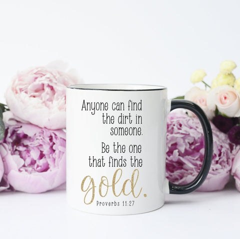 Inspirational Bible Quote Mug