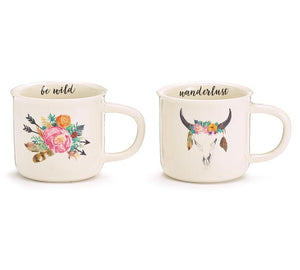 Blissful Boho Mugs
