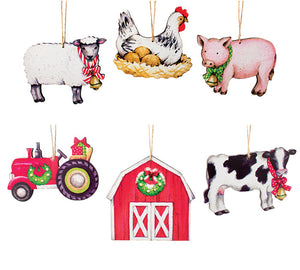 Countryside Living Ornaments