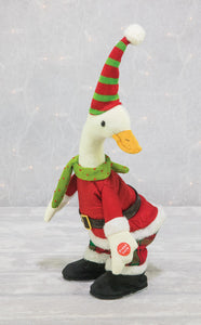 Musical Dancing Christmas Duck