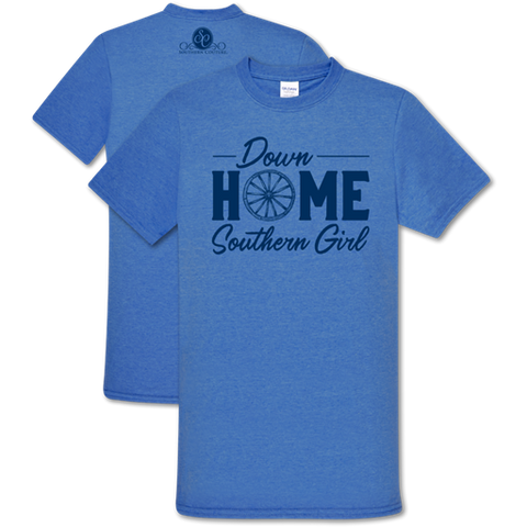 SC Soft Down Home Southern Girl T-Shirt
