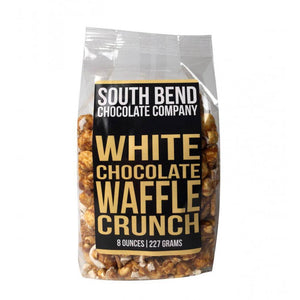 South Bend Chocolate Co || White Chocolate Waffle Crunch