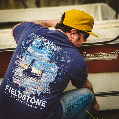 Fieldstone || Push and Pull Tshirt