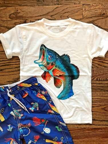 Bold Fish Kid's T-Shirt