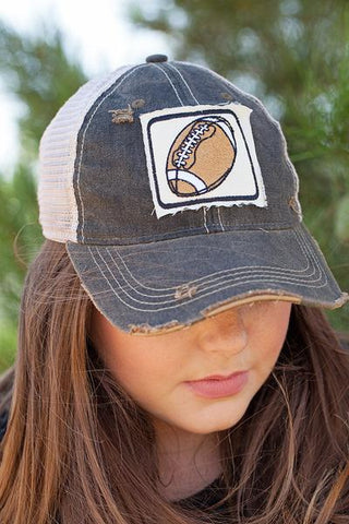 Football Patch Cap