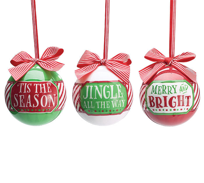 Holiday Messages Ornament
