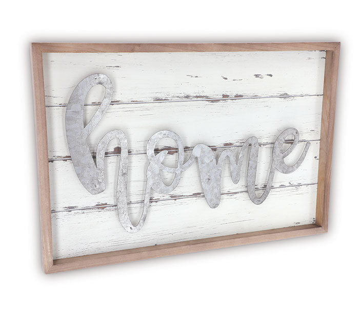 Home Laser Cut Wall Hanging Sign