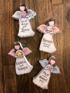 Figurine Angel with Message