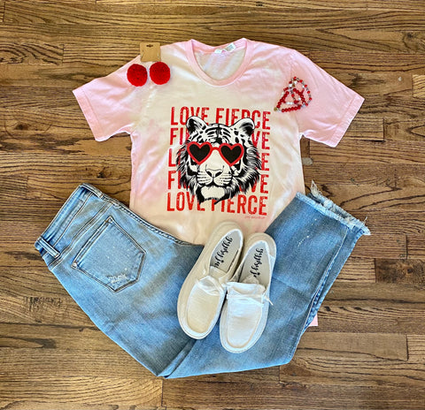 Love Fierce Tiger Tee