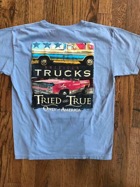 Tried and True Double Truck Kids Tshirt