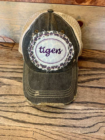Team Spirit Hat - Black - Tigers