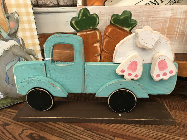 Carrots and Bunny Easter Truck Stander