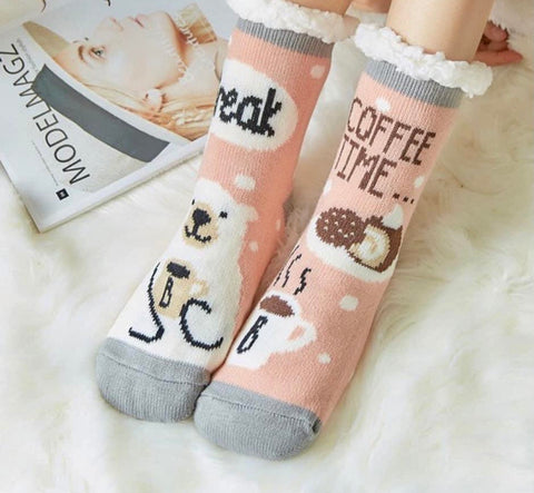Coffee Break Camper Socks
