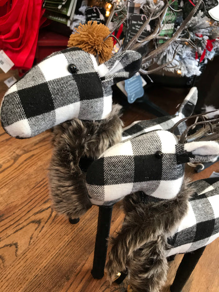 Charcoal Checkered Deer Stander