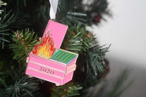 PRE-ORDER 2020 Dumpster Fire || Ornament or Keychain