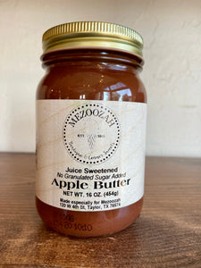 Apple Butter (Juice Sweetened)
