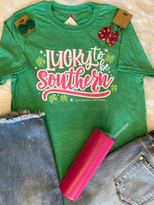 Lucky To Be Southern Tee