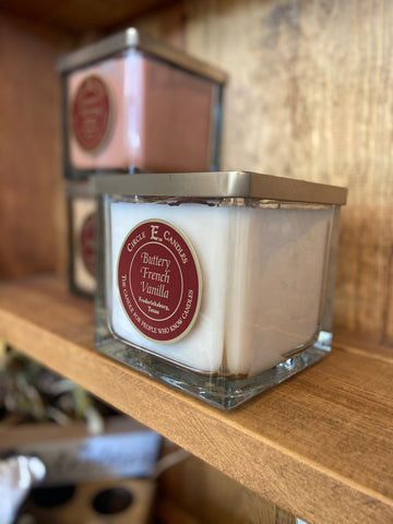 Circle E Candles || Buttery French Vanilla