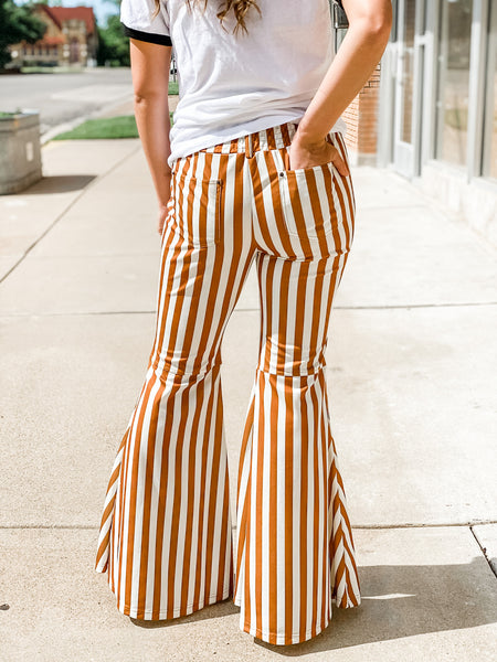 Mustard Striped Bells