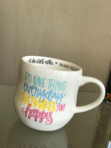 One Thing Everyday Ceramic Mug