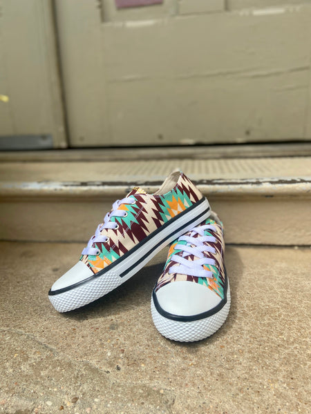 Star Low Top Shoe || Aztec Orange