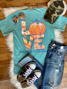 LOVE Pumpkin Comfort Color T-Shirt