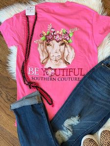 Be Youtiful Goat Tshirt
