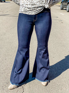 Judy Blue High Waist Super Flare Jeans