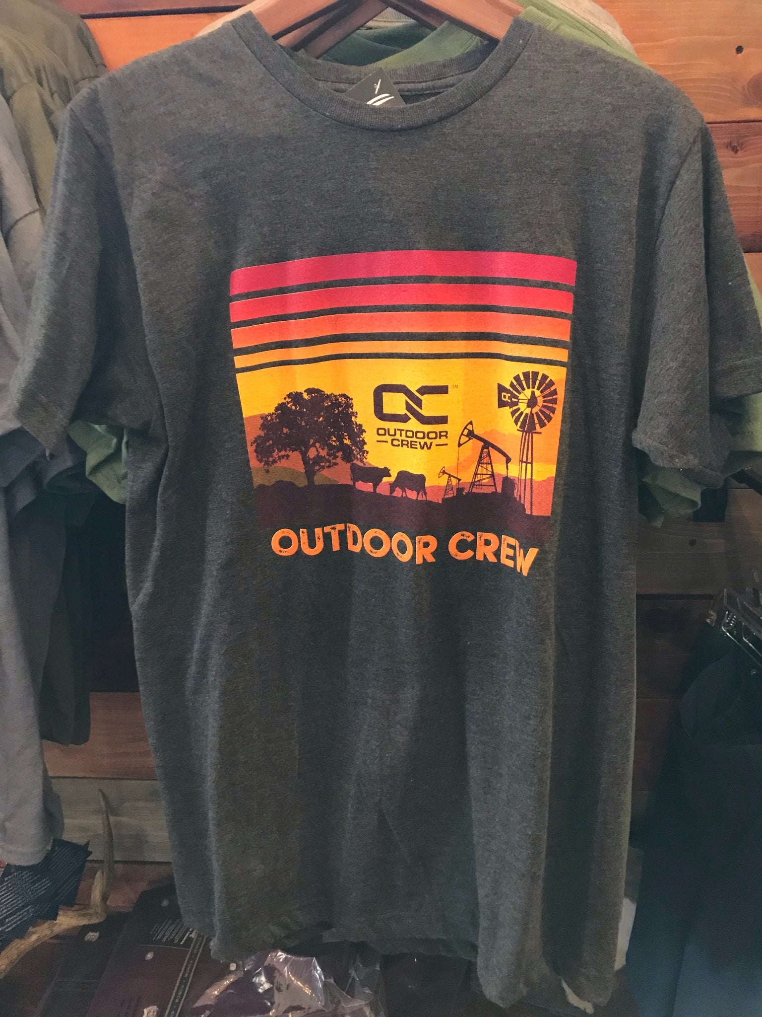 Outdoor Crew Pump Jack T-Shirt