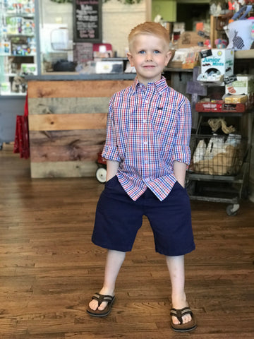 Kid's Twill Midnight Shorts