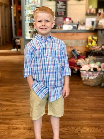LS Boy's Button Down Shirt