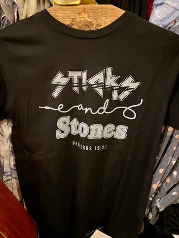 Sticks & Stones || Kid's T-shirt