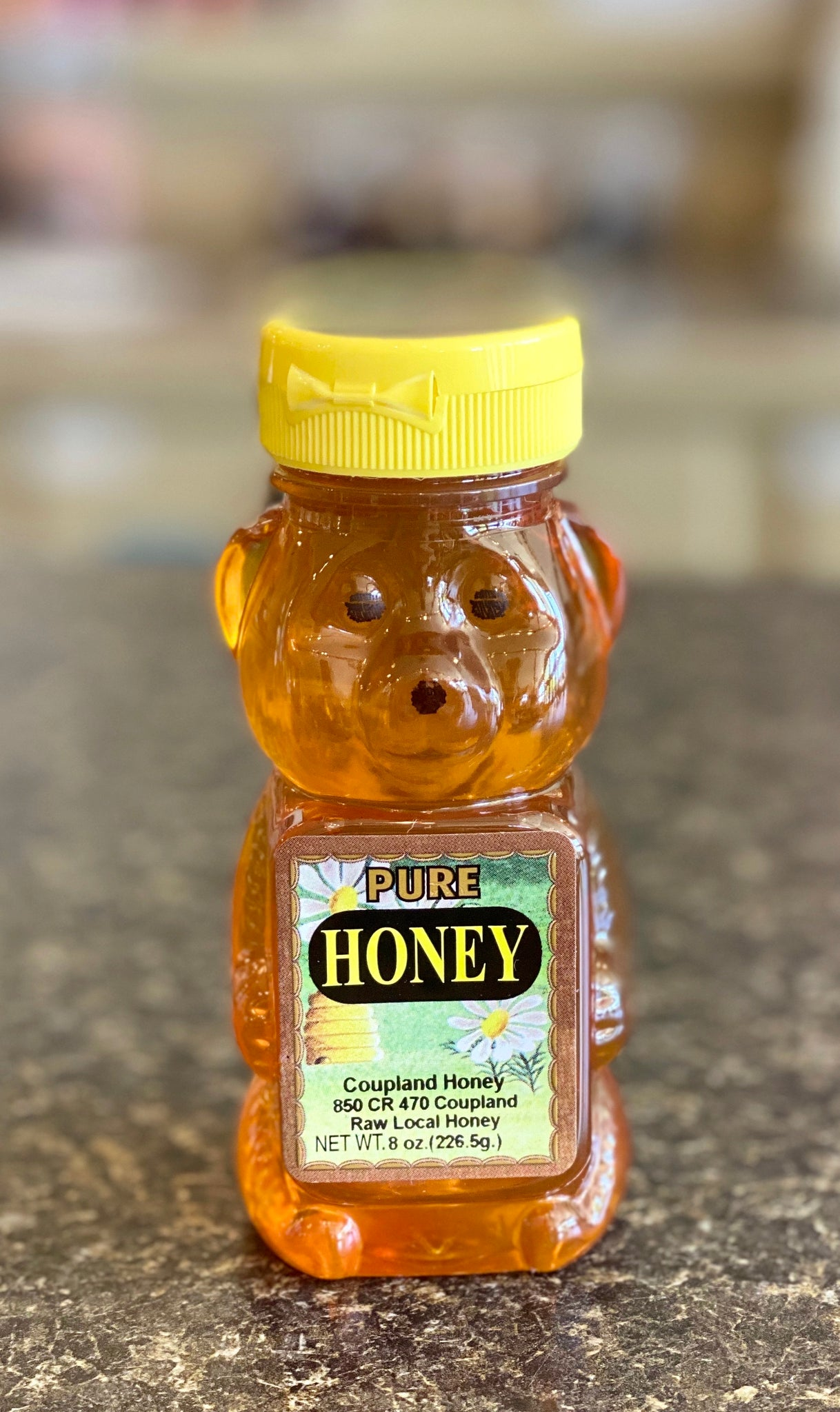 Pure Honey ||  Honey Bear 0.5lb