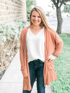 The Striped Game Day Cardigan