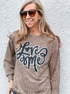 Love Me Leopard Top