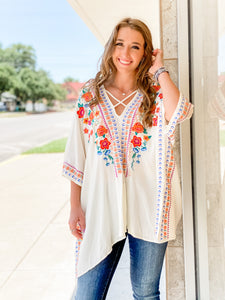 Charlotte Embroidered Tunic