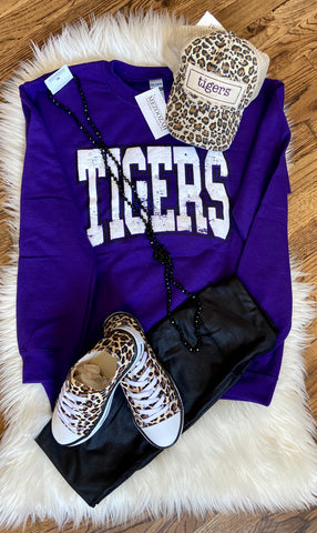 School Spirit Sweatshirt || Tigers