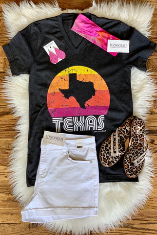 Sunset Texas Vintage Tee
