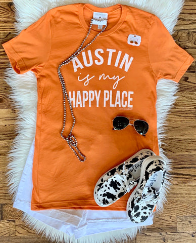 My Happy Place Tee || Austin
