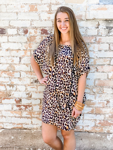 The Leopard Fever Dress