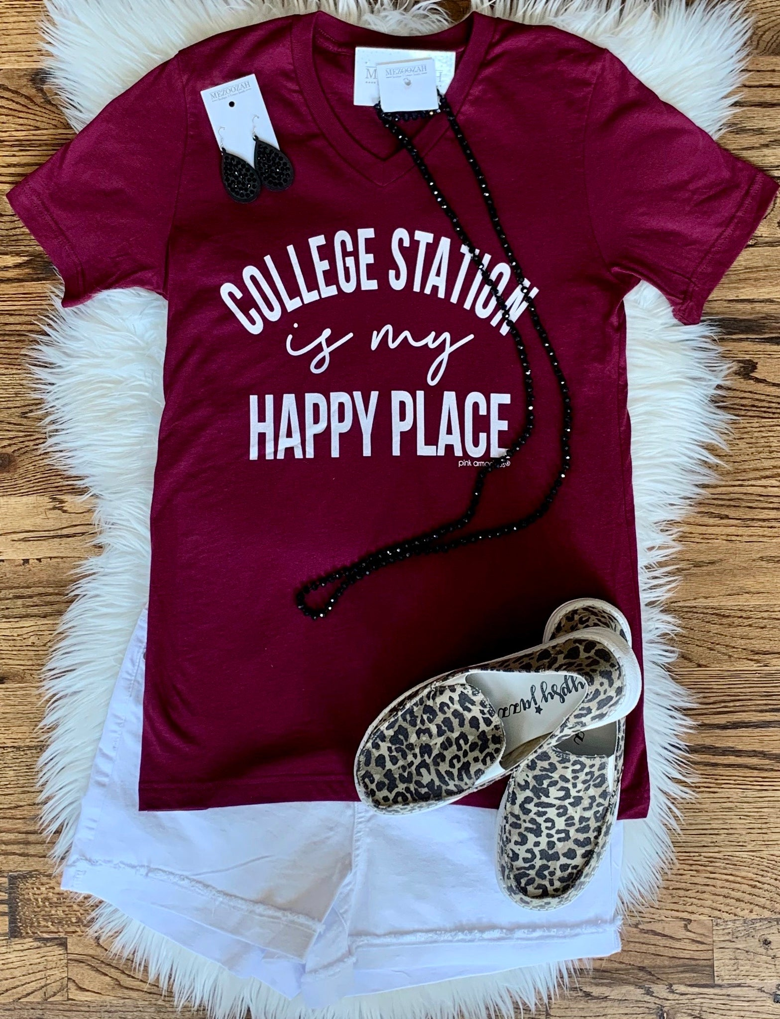 My Happy Place Tee || College Station