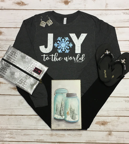 Joy To The World LS Tee
