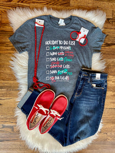 Holiday To Do List Tee