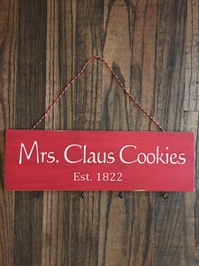 Mrs. Claus Cookies Utensil Rack