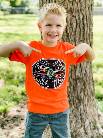 Come Fly With Me Short Sleeve Kid's T-Shirt