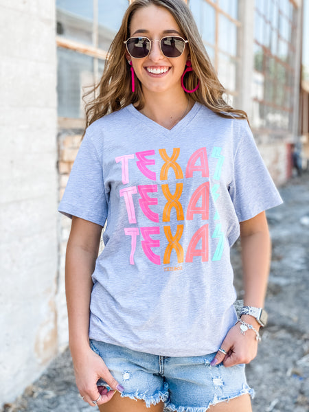 Retro Summer Texas Tee